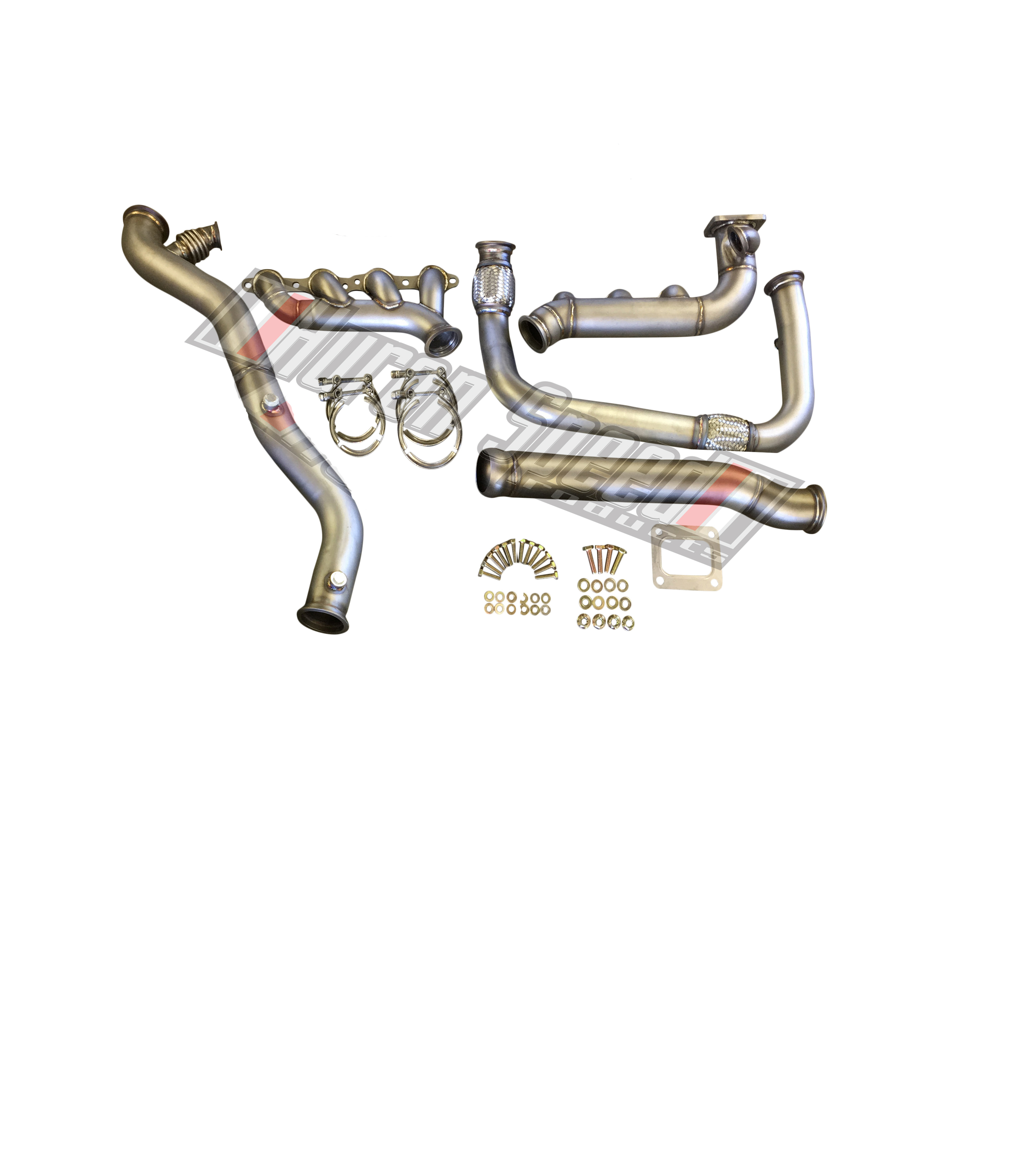 Twin Turbo Kit Cts V: Huron Speed Products