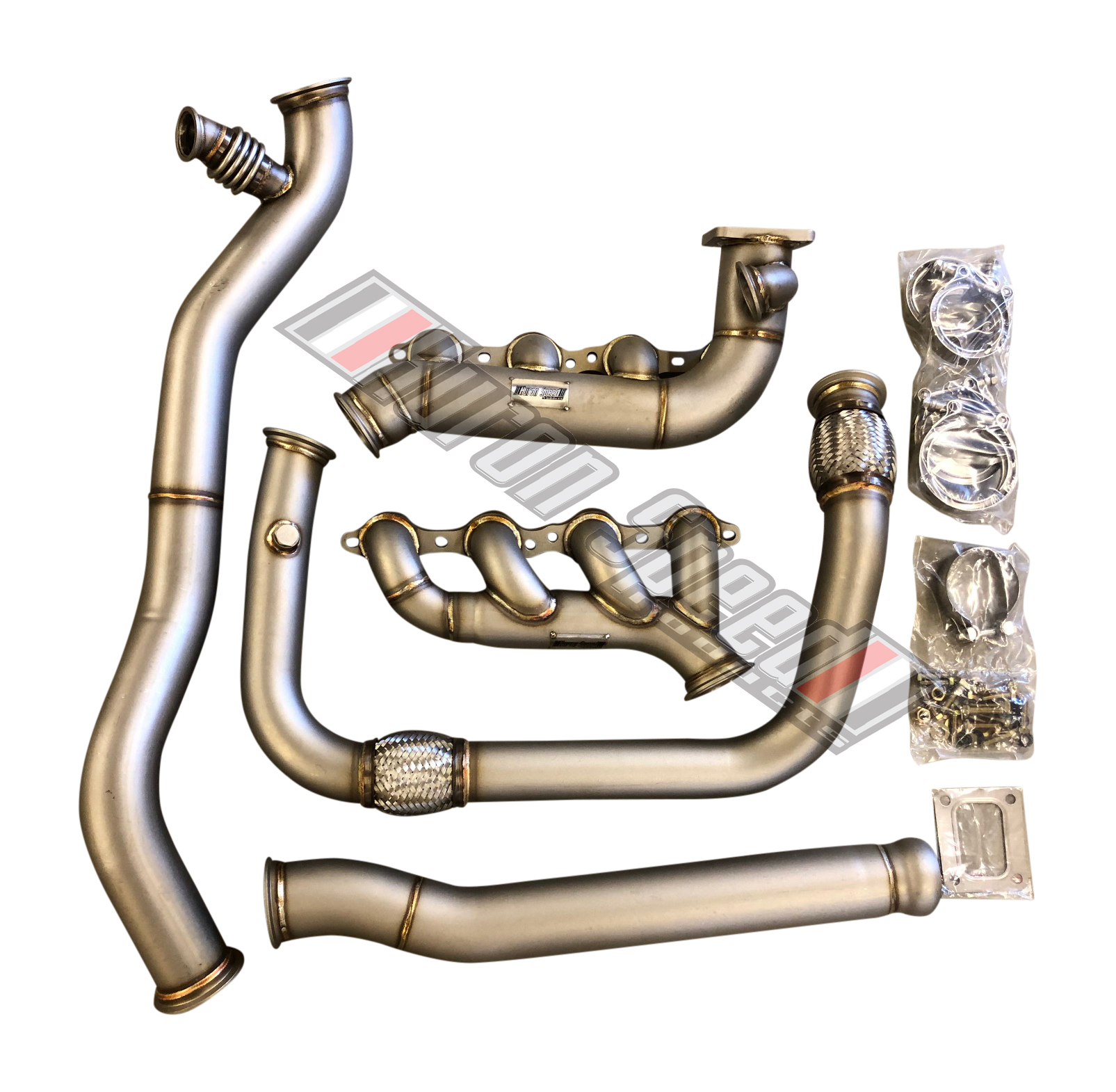 Huron Speed V3 99-13 Hot-Side T4 Turbo Kit - FINAL PAYMENT